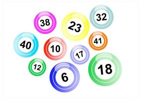 Lotto Balls Vector Pack