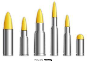 Metalen Shotgun Shells vector