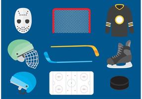 Hockey Vector Pictogrammen