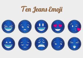 Gratis Jeans Emoji Vectors