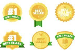 Bestsellers Boeken Vector Badges Gratis