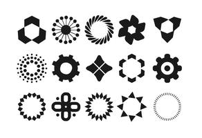 Geometrische vorm instellen vector