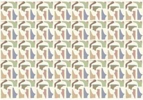 Schoenen Patroon Achtergrond Vector