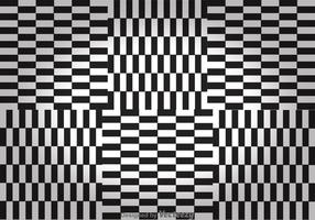 Zwart-witte Checker Board Achtergronden vector