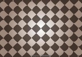 Vervormd Vierkant Abstract Patroon Vector