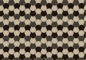 Vervormde Checker Board Pattern Vector