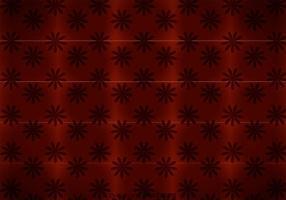 Maroon Bloemen Achtergrond Vector