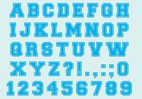 Universiteit Font Type Vectors