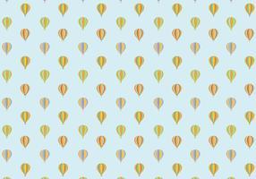 Luchtballonpatroon Achtergrond