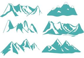 Denver Mountain Vectors