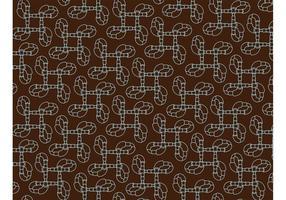 Abstracte Pijppatroon Achtergrond Vector
