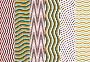 Zigzag Golven Achtergrond Vectoren