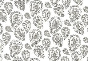 Vector Paisley Achtergrond