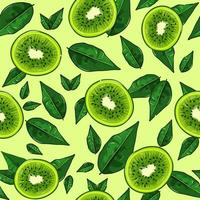 zoetzure voeding vol vitamine c, kleurrijke vector.