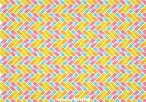 Kleurrijke Zig Zag Wall Tapestry vector