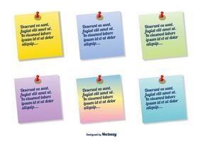 Kleurrijke Sticky Note Set