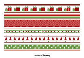 Geometrische Kerstpatronen