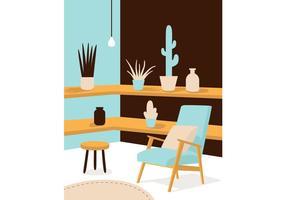 Binnenlandse vector illustratie