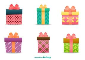 Cadeau doos illustraties vector