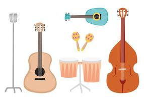 Muziekinstrumenten Vectoren