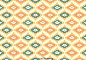 Azteek Etnische Patroon vector