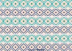 Etnische Azteek Ornamentpatroon vector