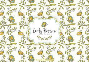 Gratis Girly Patroon Vector