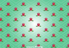 Rose Bloemen Naadloze Achtergrond vector