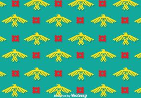 Eagle Etnische Patroon Vectoren