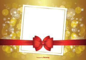 Mooie Kerst Achtergrond Illustratie