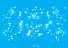 Blauwe Sparkle Achtergrond Illustratie