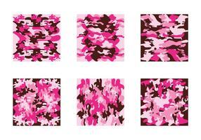 Gratis Pink Camo Vector Patroon