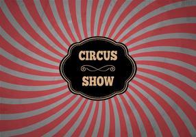 Gratis Klassieke Circus Achtergrond Vector