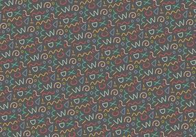 Naadloos overzicht patroon vector