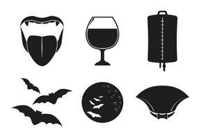Vector Dracula Pictogrammen