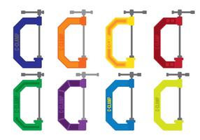 Colorfulc klemvectoren vector