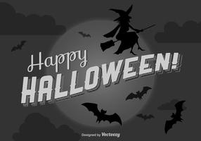 Gelukkige Halloween Achtergrond vector