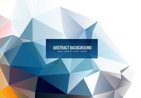 Abstracte polygonale vectorvormen