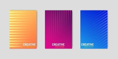 cover set met geometrische gradiëntlijnen