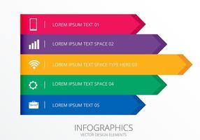 Infografische Banners en Header Set Vectors