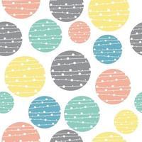 geometrische cirkel patroon achtergrond vector