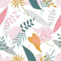 pastel bloemmotief