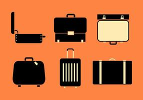 Koffervectoren vector