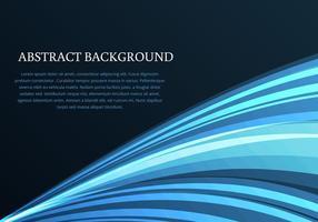 Blauwe Donkere Achtergrond Vector