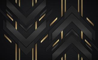 gouden en zwarte metalen pijlvormen die op en neer gaan