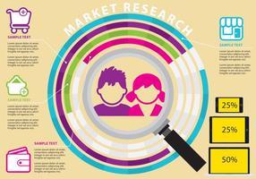 Markt Onderzoeksvectoren vector