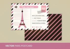 Vector postkaart
