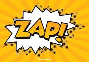 Strip ZAP! Illustratie vector