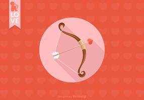 Gratis Cupids Bow Vector