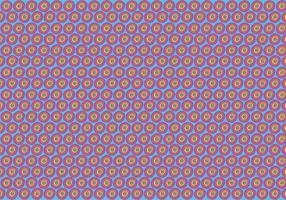 Gratis Polka Dot Pattern Vector Achtergrond